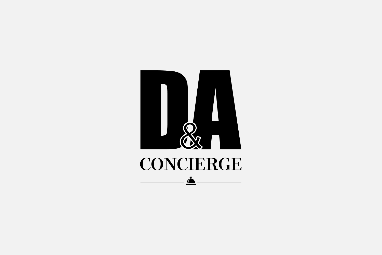 LOGO DESIGN - D & A CONCIERGE
