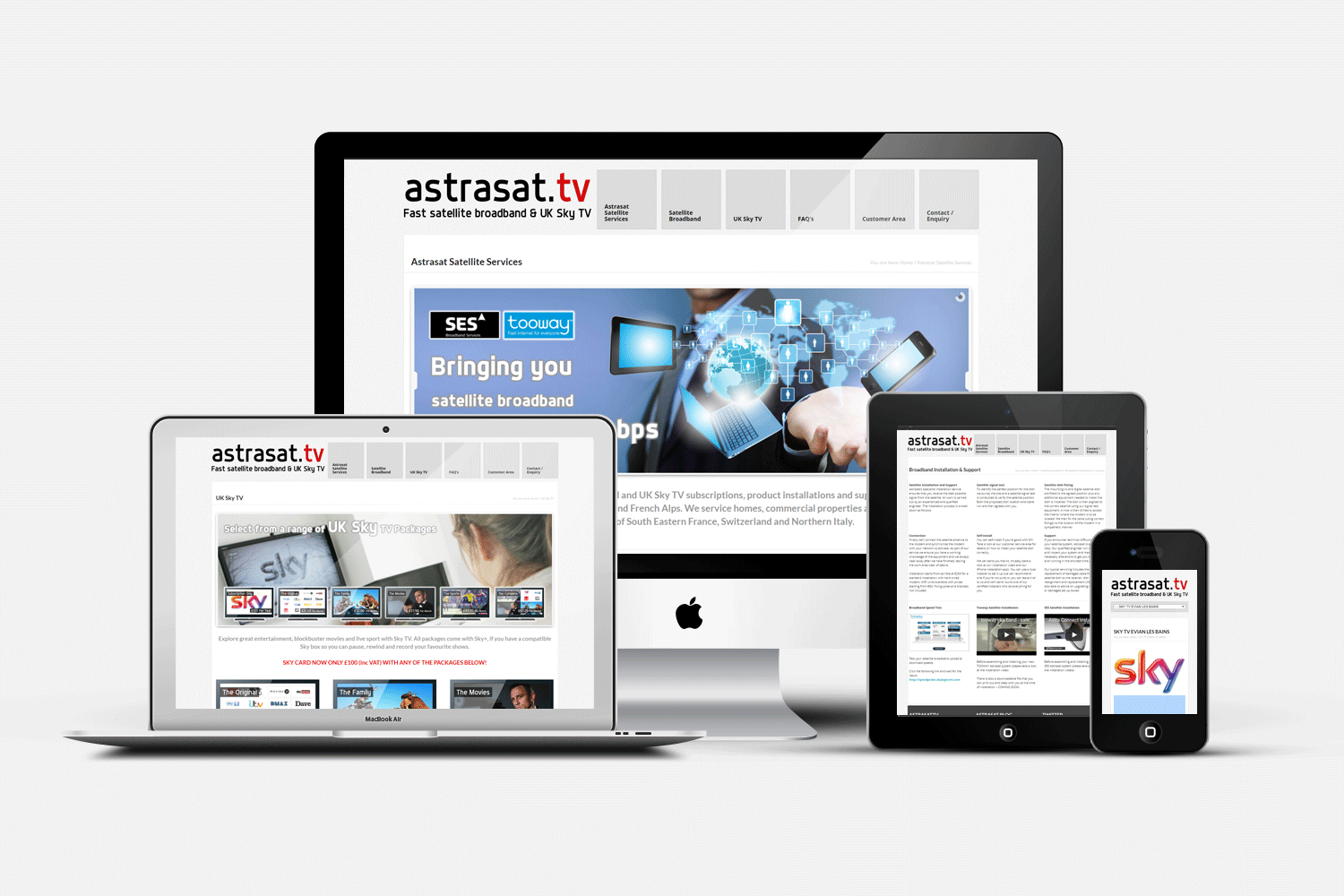 WEB DESIGN :: ASTRASAT TV
