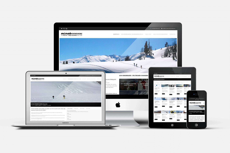 WEB DESIGN :: MCNAB SNOWBOARDING